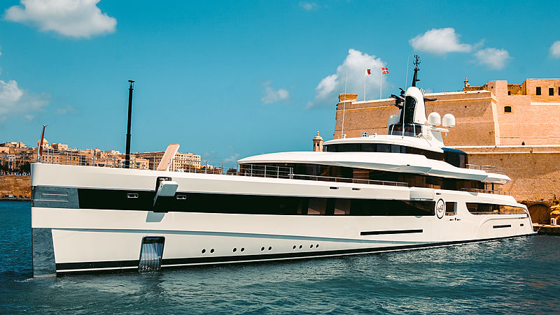 Lady S yacht by Feadship in Malta