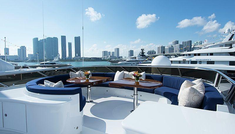 Horizon yacht exterior