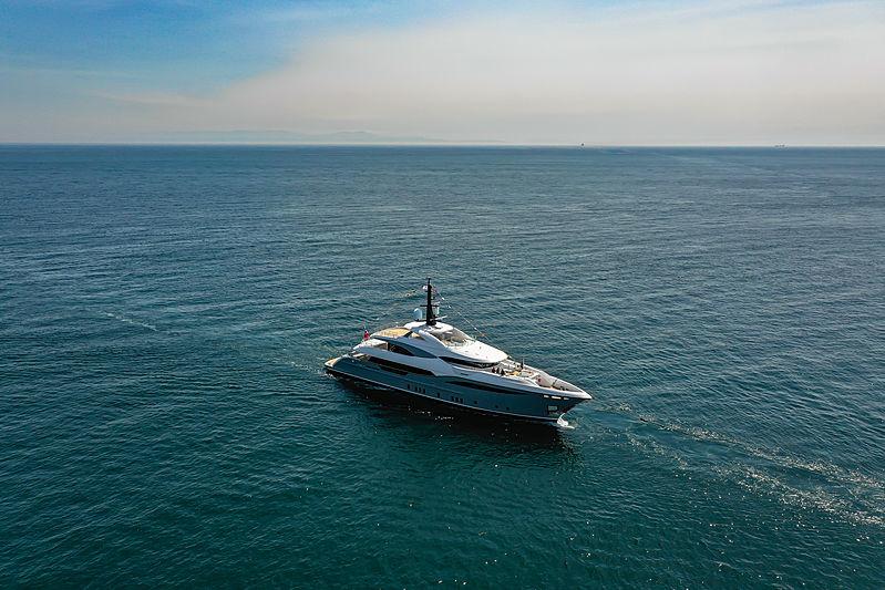 Lilium yacht launch