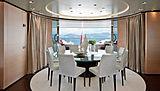 Lammouche yacht dining room