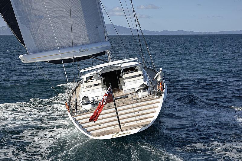 Encore yacht sailing