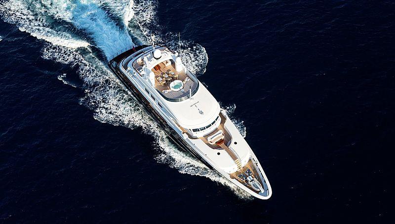 Lighea yacht cruising