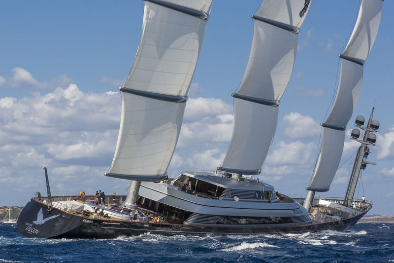 Maltese Falcon in Porto Cervo