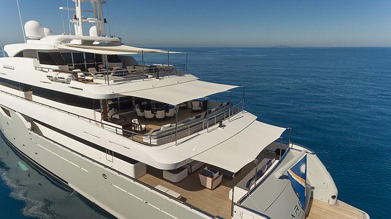 Rarity yacht aerial
