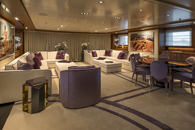 Rarity yacht saloon