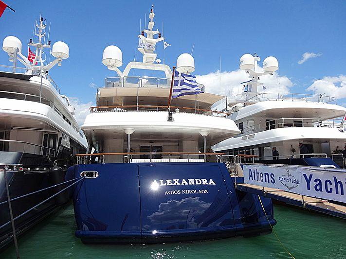 Alexandra yacht Nafplion