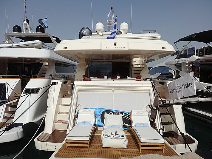 Astarte yacht in Nafplion