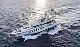 Gladiator yacht cruising