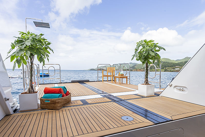 Gladiator yacht beach club
