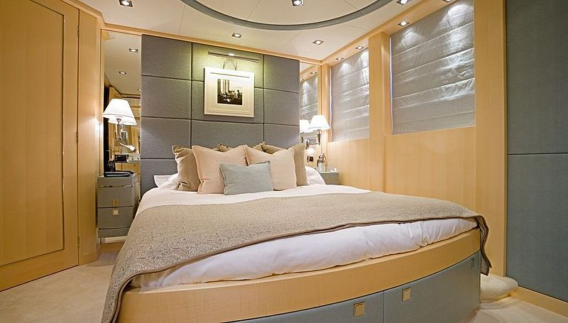 G Force yacht stateroom