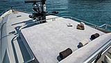 Hush yacht sun deck