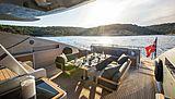 Hush yacht deck
