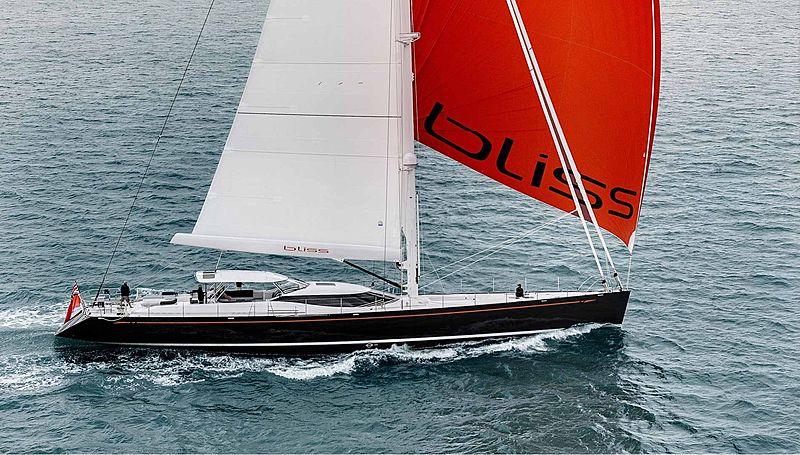 BLISS yacht Yachting Developments