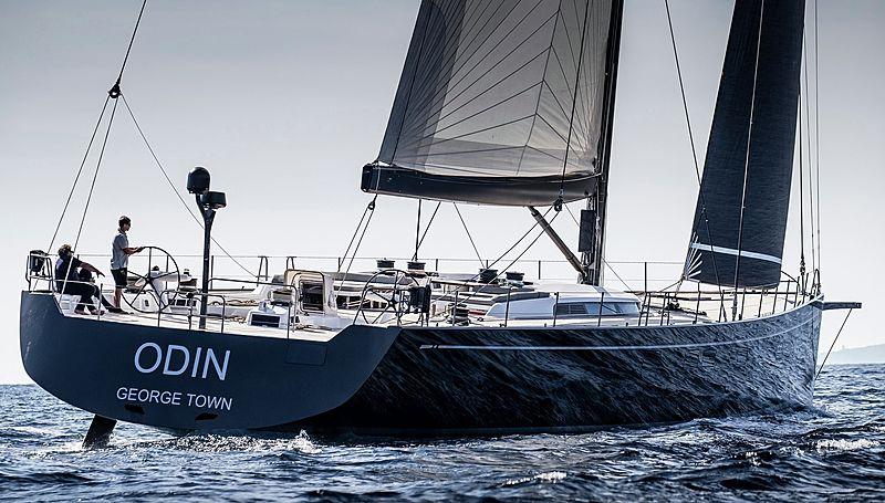Odin yacht sailing