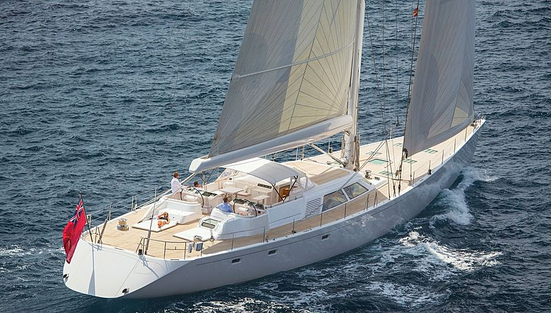 Spiip yacht sailing