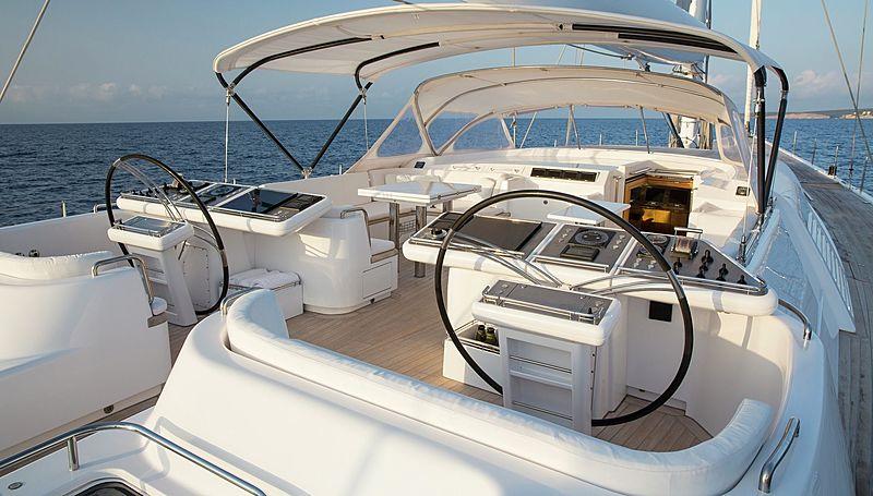 Spiip yacht deck