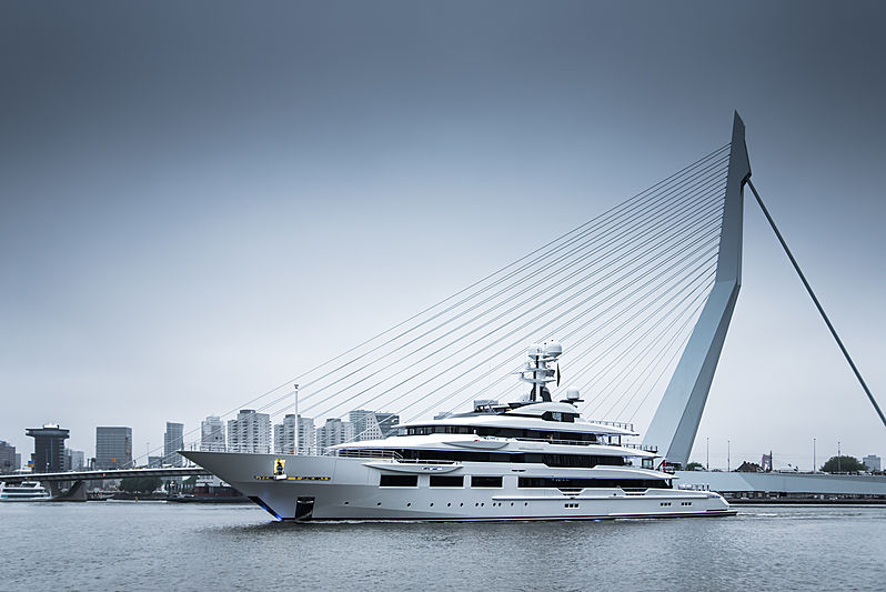 DreAMBoat yacht by Oceanco in Rotterdam