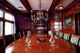 Steel formal dining room