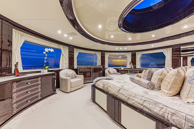 Spectre yacht owner's stateroom