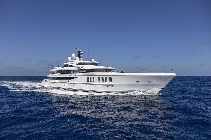 SPECTRE yacht Benetti
