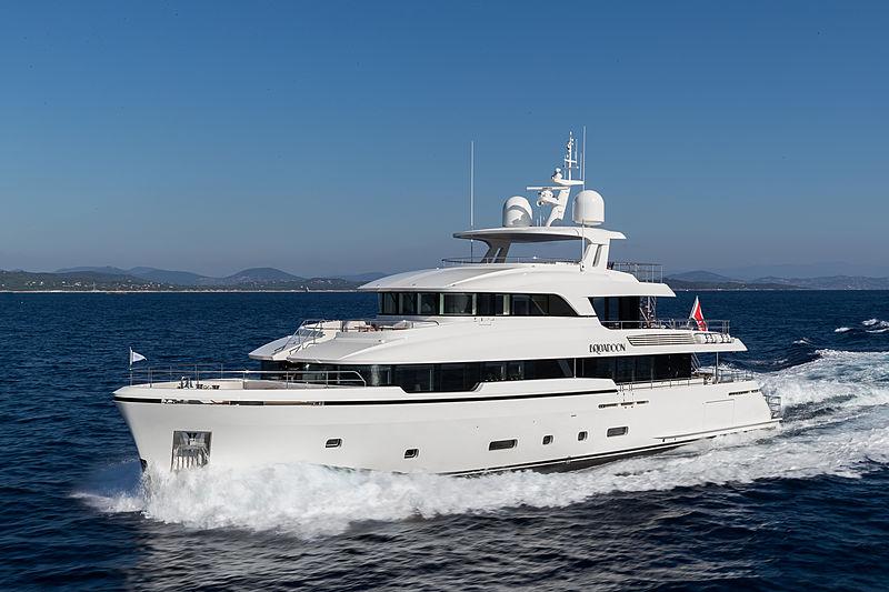 Brigadoon yacht cruising