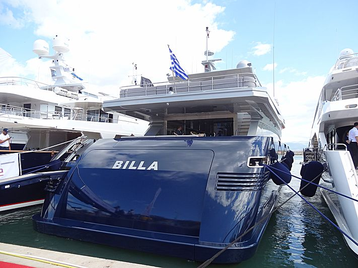 Billa yacht in Nafplion