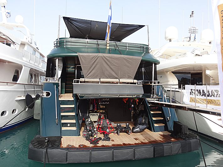 Can't Remember yacht in Nafplion