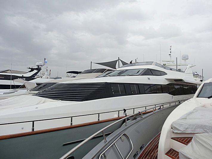 Martina yacht in Nafplion