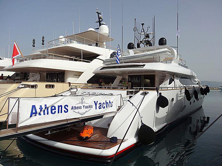 PARIS A yacht Maiora