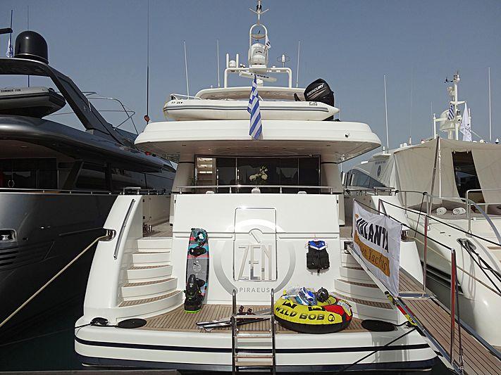 Zen yacht in Nafplion