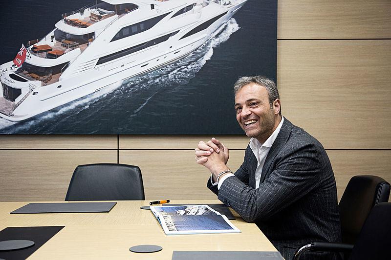 Giuseppe Palumbo, CEO of Palumbo Yachts