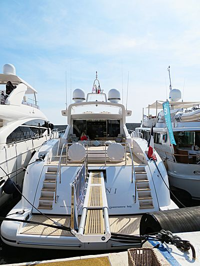 Orion I yacht at ECPY Open Days in Nice