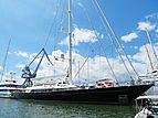Bayesian yacht at Astilleros de Mallorca