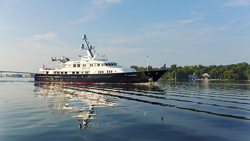 Minderella yacht cruising