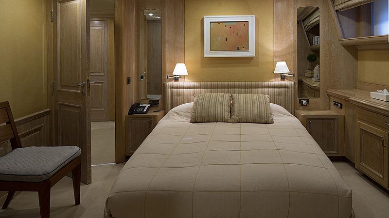 Golden Eagle yacht stateroom