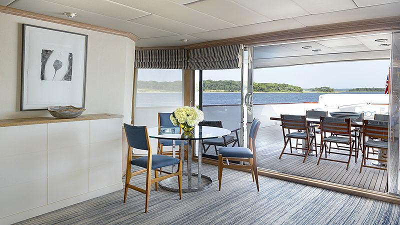 Golden Eagle yacht skylounge