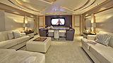 La Mascarade yacht saloon