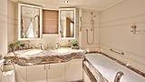 La Mascarade yacht bathroom