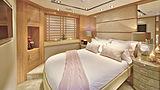 La Mascarade yacht stateroom