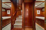 Nirvana yacht staircase
