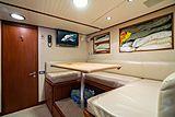 Nirvana yacht crew mess