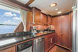 Nirvana yacht galley