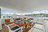 Nirvana yacht sundeck
