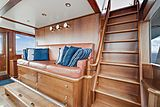 Nirvana yacht wheelhouse
