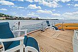 Nirvana yacht aft deck