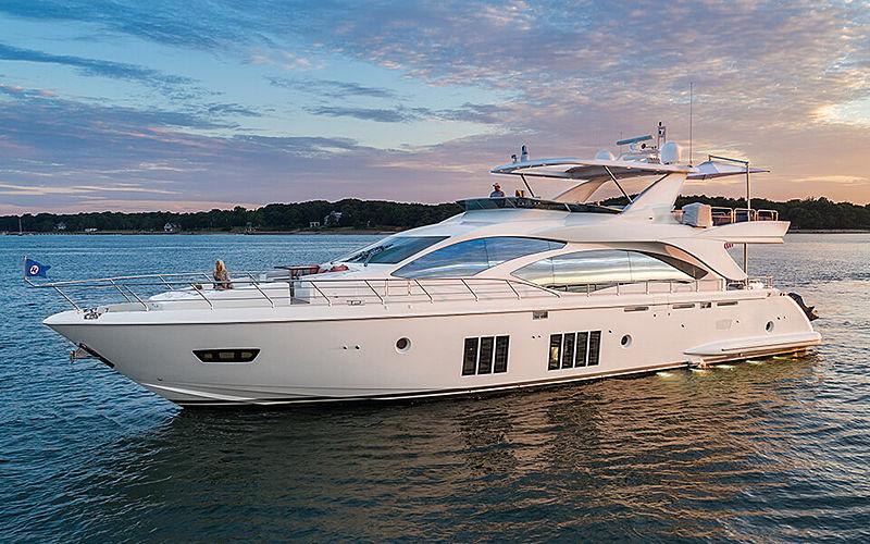 Satisfaction yacht cruising