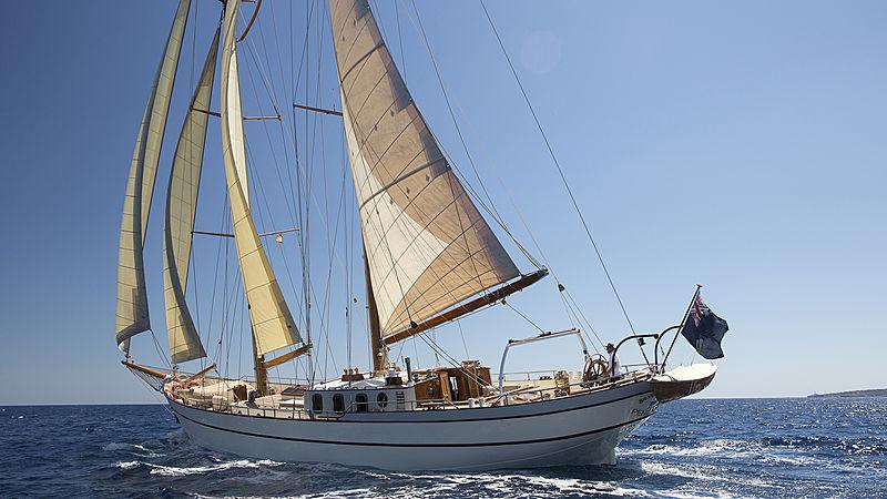 SILVER SPRAY yacht Scheepswerf Piet Smit