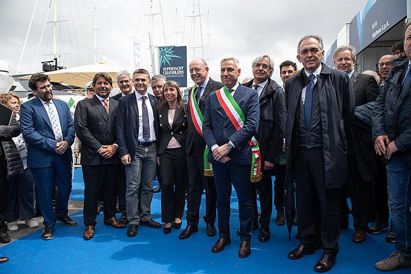 Versilia Yachting Rendezvous 2019 opening ceremony
