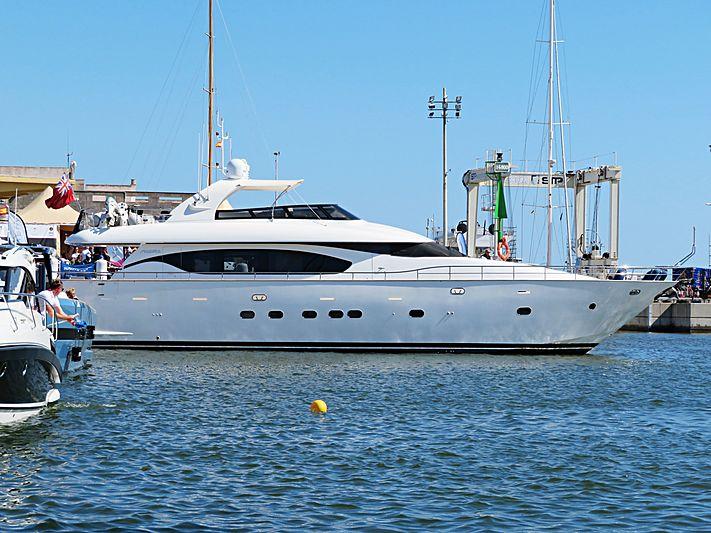 Stravaganza yacht in Palma