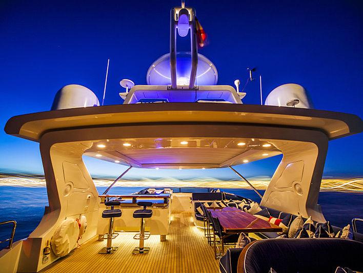 Atmosphere yacht flybridge